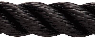 New England Ropes Inc PREMIUM NYLON 3/8 X 600 BLACK (Bag Halyard)