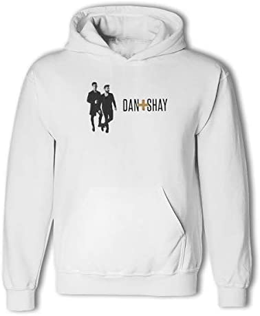 AOOIUU Dan Shay Dan and Shay Youth Teen Pullover Hooded Pocket Sweater for Boys and Girls