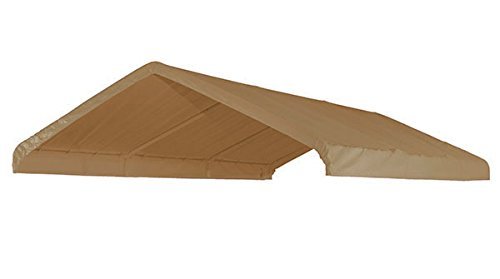 10' X 20' Frame Canopy Replacement Cover (Beige)