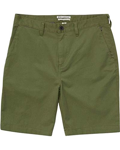 Billabong Mens Walkshorts - Billabong Men's Carter Stretch Walkshort, Agave, 31