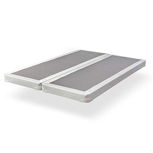 "Spinal Solution 4"" Fully Assembled Split Box Spring for Mattress, Queen"