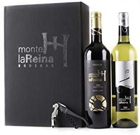 VINO BLANCO Y TINTO- ESTUCHE-PACK- 100% Tempranillo, 100% Verdejo-Roble-Crianza-Fermentado en Barrica- Vinos recomendados-Premios 2019 (2 BOTELLAS)