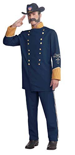 Forum Novelties Plus-Size Extra Large Union Officer Costume, Blue, X-Large/XX-Large