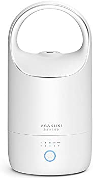 Asakuki Cool Mist 3L Humidifier with Smart Sleep Mode for Bedroom