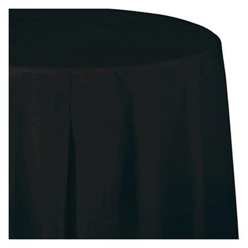 (Creative Converting Paper Banquet Table Cover, Black Velvet )