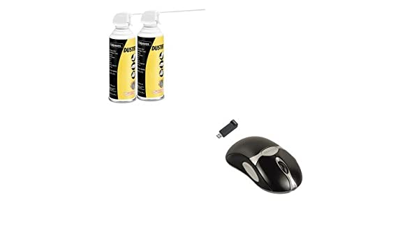 bf693dbe395 Amazon.com: KITFEL98912FEL9963201 - Value Kit - Fellowes Optical Cordless  Mouse (FEL98912) and Fellowes Air Duster (FEL9963201): Office Products