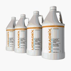 Liceadex Lice & Nit Removal Gel Institution Solution :: Non-Toxic Lice Removal :: 4 gallons