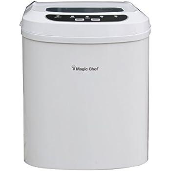 Amazon Com Magic Chef Mcim22w 27 Lb Ice Maker White