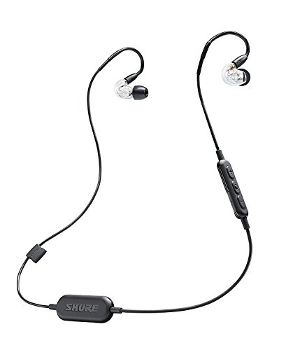 Shure SE215-CL-BT1 Wireless Sound Isolating Earphones with Bluetooth Enabled Communication (Single Source Wireless Headphones)