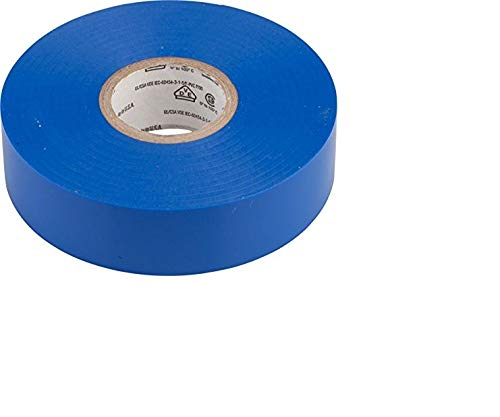 3M COMPANY Electrical Tape, Blue Vinyl, Professional Grade, 3/4-In. x 66-Ft. 80-6112-1158-4