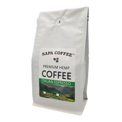 Sapa Hemp Coffee Italian Roast Espresso 12 (Hemp Coffee)