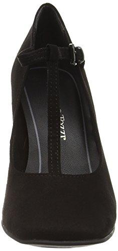 Escarpins 001 Femme Noir Black Marco Tozzi 24417 ExqwCYf4f7
