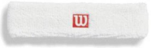 (Wilson Headbands -White)