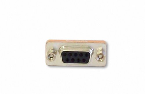 Your Cable Store Serial Port 9 Pin Null Modem Adapter DB9 Female / Female RS232