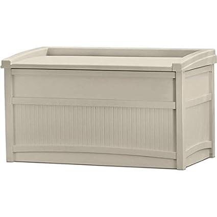 Phenomenal Amazon Com Patio Storage Cabinet Large 50 Gallon Storage Interior Design Ideas Gentotthenellocom