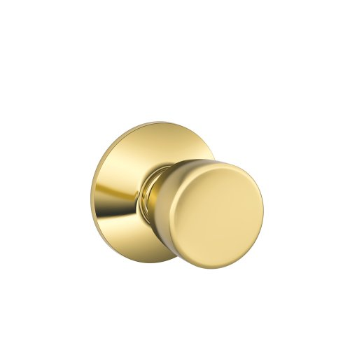 Schlage F10BEL605 Bell Hall and Closet Knob, Bright ()