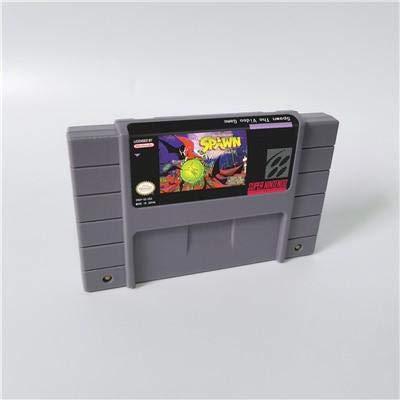 (Game card - Game Cartridge 16 Bit SNES , Game Spawn The Video Game - Action Game Card US Version English Language)