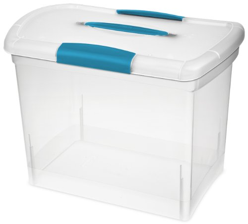 plastic storage bins with handles - 5