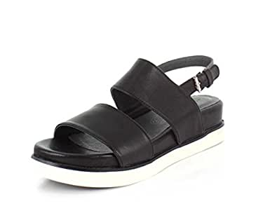 Bussola peg women 39 s sandal 41 m eu black for Bussola amazon