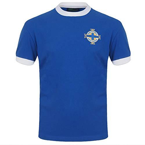 Irlanda del Norte – Camiseta para Hombre – Producto Oficial Retro – Regalo para el Ejército Verdiblanco – George Best 11