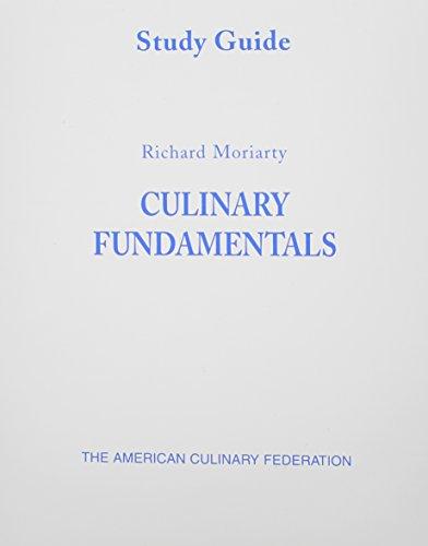 Study Guide (Culinary Fundamentals)