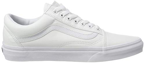 Zapatillas Blanco W00 True Classic Canvas Adulto Unisex White de Skool Vans Old Lona Iz7FqS