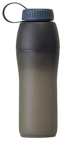 (Platypus Meta Collapsible Water Bottle for Camping and Hiking, Slate Gray, 0.75-Liter)