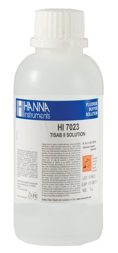 Hanna Instruments HI7023M TISAB Fluoride Standard Solution, 230mL Bottle
