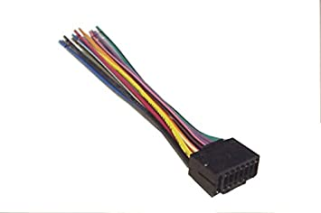 Mobilistics Jvc Wiring Harness Car Stereo 16 Pin Wire Amazon In Electronics