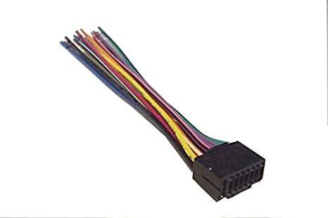 New 16 PIN AUTO STEREO WIRE HARNESS for JVC KD-S17 Player