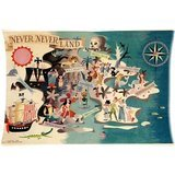 Personalized Neverland Peter Pan Rectangle Custom Pillowcase Cushion Pillow case Cover Home Decorative Standard Size 20 x 30 (one side) (Peter Pan Pillowcase compare prices)