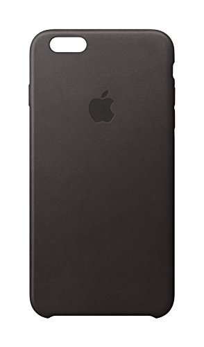 Apple Cell Phone Case for iPhone 6 & 6s - Retail Packaging - Black Leather (Case Leather Black Carrying)