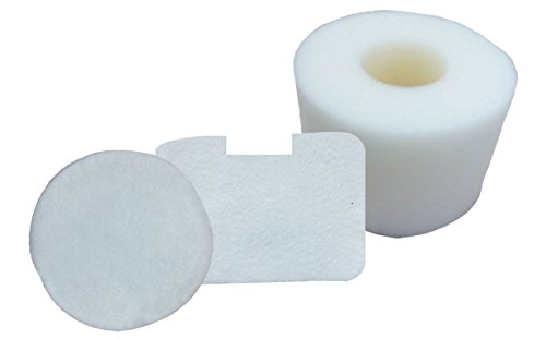 Smartide Kit for Shark Nv42 Part# Xff36 Vacuum Cleaners Replacement Foam & Felt Filter 3 Pieces (Shark Navigator Nv4226 Filters compare prices)