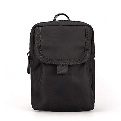 Mens Messenger Bags Shoulder Bag Small Satchel Mini Mobile Phone Pocket Crossbody Bags,black ()