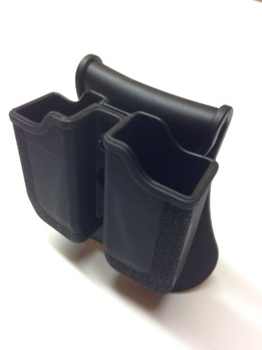 Taurus Paddle Molded Double Magazine Holster / Pouch. Fits the Taurus 24/7