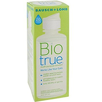 Bausch & Lomb Biotrue Multi-Purpose Travel Solution, 6 Count