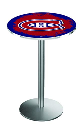 Holland Bar Stool L214 NHL Montreal Canadiens Officially Licensed Pub Table, 28