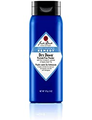 JACK BLACK – Dry Down Friction-Free Powder – Performance Remedy, Sports Therapy Skincare, Talc-Free Formula, Absorbs Moisture, Protection from Friction, Chafe-Free Workouts, 6 oz.
