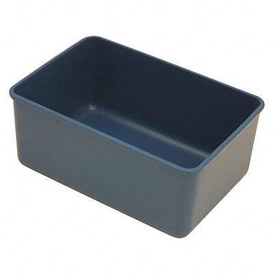 Detectamet Inc. Rectangular Storage Box Blue 1700mL