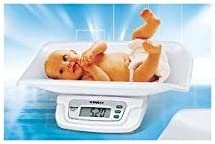 Newline Digital Weight Track Baby Scales White, Pet Scale