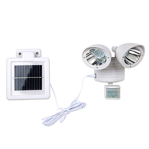 22 Led Solar Powered Rechargeable Pir Motion Sensor Security Light