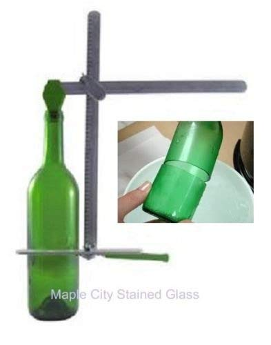Bottle Cutter Generation Green Recycles Wine Bottles - NICE stained Glass