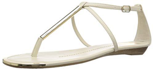 (DV by Dolce Vita Women's Archer Flat Sandal, Bone Stella, 7.5 M US)