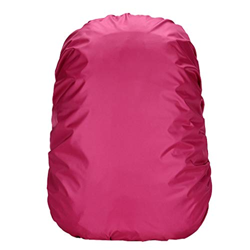Tigivemen Waterproof School Package Cover Bag,Solid Color Waterproof Cover For Camping Hiking Outdoor ON ()