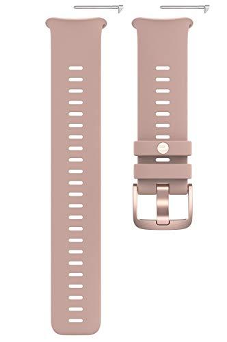 Correa intercambiable para Polar Vantage V2 Reloj GPS Corriendo, Adultos Unisex, Rosa/Morado, S-L