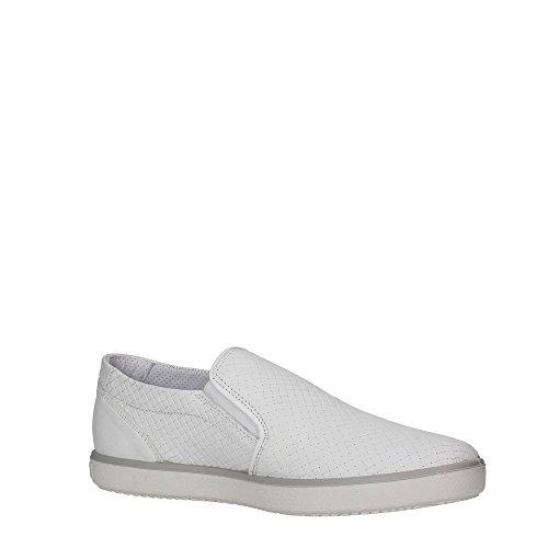 Igi&Co 57201 Slip On Uomo Pelle Bianco Bianco 42
