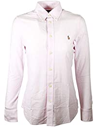 Womens Oxford Classic Fit Button Down Shirt