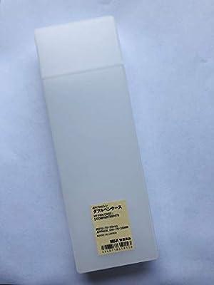 MUJI PEN CASE S 210X70X25MM MADE IN JAPAN 2 Size open by Muji: Amazon.es: Oficina y papelería