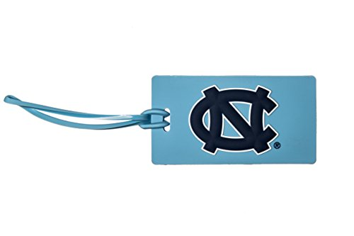 Collegiate Pulse North Carolina Tarheels NCAA PVC Luggage TAG