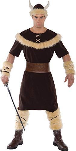 Underwraps Costumes Men's Viking Costume, Brown/Tan, ()